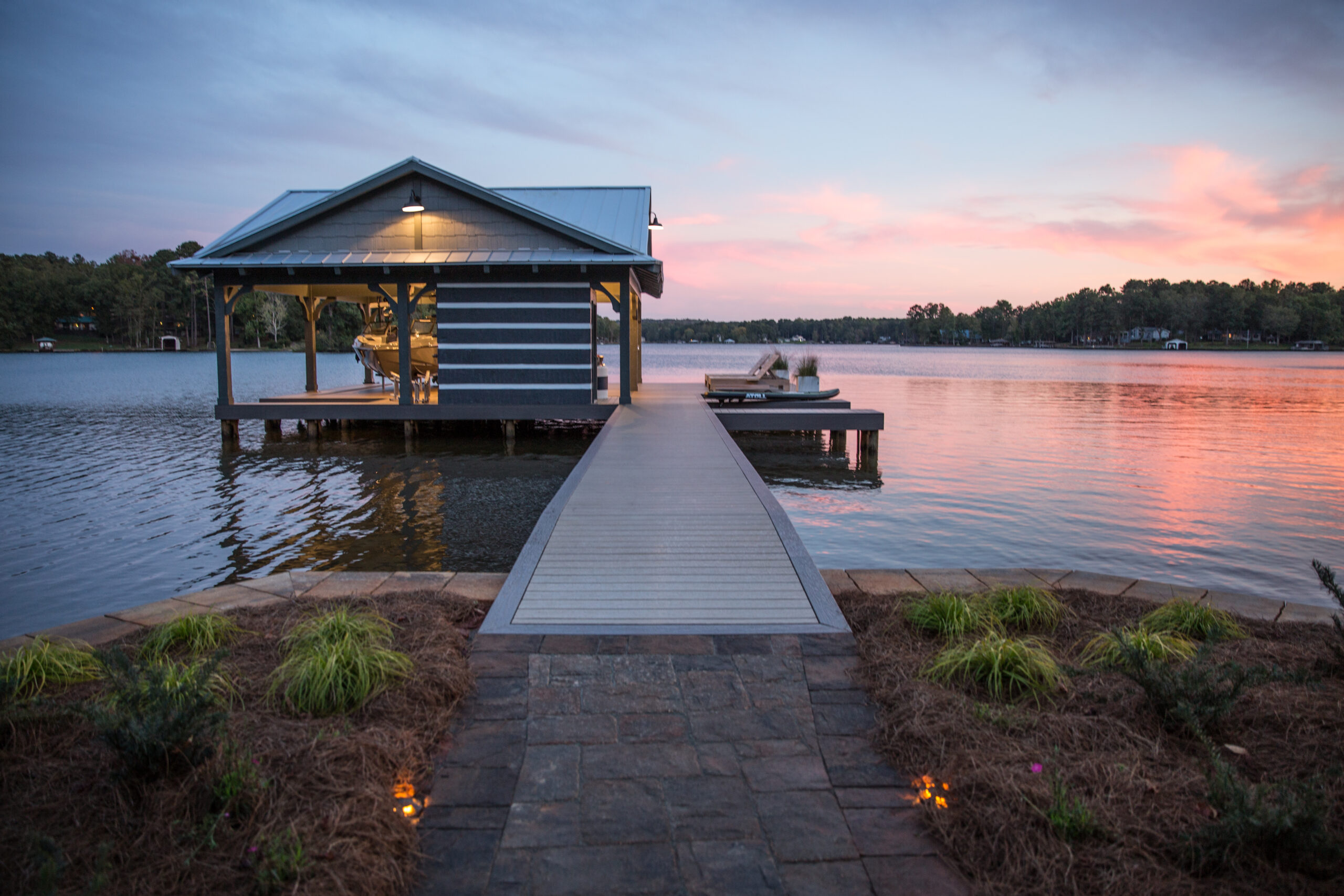 dock and boat shelter design ideas