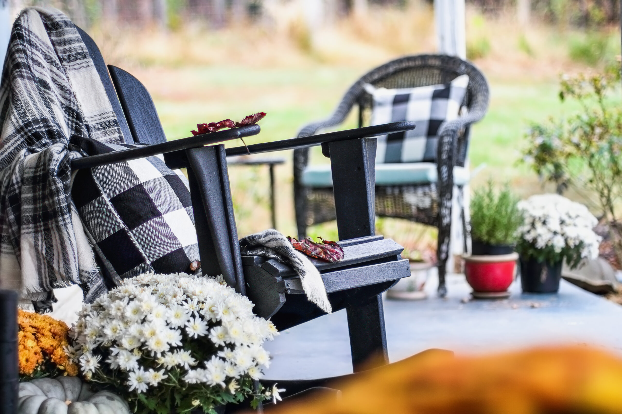 fall outdoor decorating tips